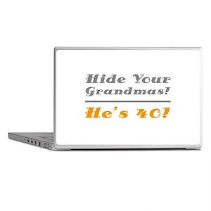 Hide Your Grandmas, He's 40 Laptop Skins