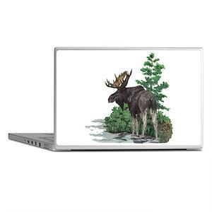 Bull moose art Laptop Skins