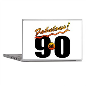 Fabulous At 90 Laptop Skins