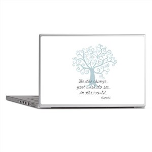 Be the Change Tree Laptop Skins