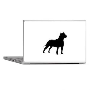 american-staffordshire-terrier- silo black Laptop