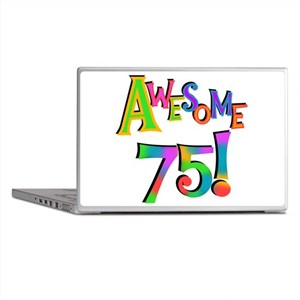 Awesome 75 Birthday Laptop Skins