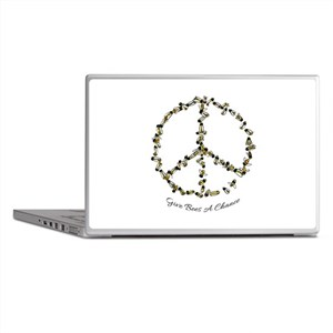 Give Bees A Chance Laptop Skins