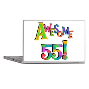 Awesome 55 Birthday Laptop Skins