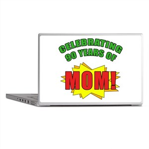 Celebrating Mom's 90th Birthday Laptop Skins