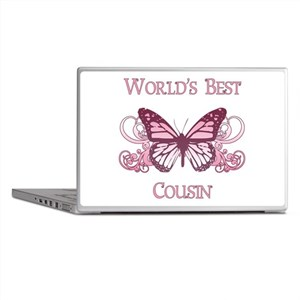 World's Best Cousin (Butterfly) Laptop Skins