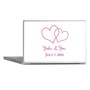 Custom Wedding Favor Laptop Skins