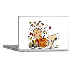 Fall Peanuts Laptop Skins