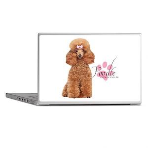 Poodle Laptop Skins
