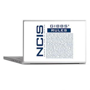 NCIS Gibbs Rules Laptop Skins