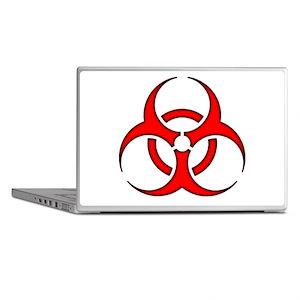 biohazard enhanced 3600 no background Laptop Skins