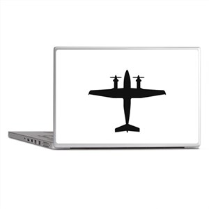 Beech King Air 300 (top) Laptop Skins