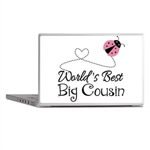 World's Best Big Cousin Laptop Skins