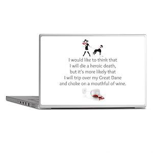 Wine Quote Laptop Skins