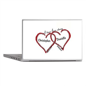 A true love story: personalize Laptop Skins