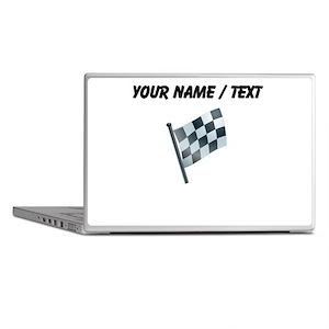 Custom Checkered Flag Laptop Skins