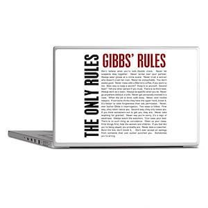 Gibbs' Rules Laptop Skins
