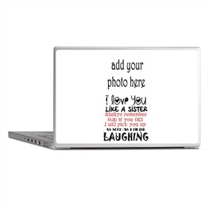 love you like a sister Laptop Skins