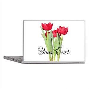 Personalizable Tulips Laptop Skins