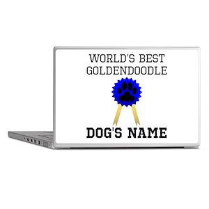 Worlds Best Goldendoodle (Custom) Laptop Skins