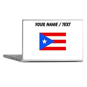 Custom Puerto Rico Flag Laptop Skins