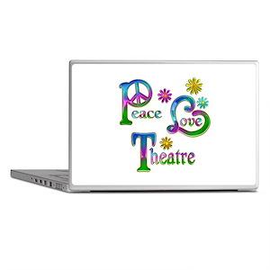 Peace Love Theatre Laptop Skins