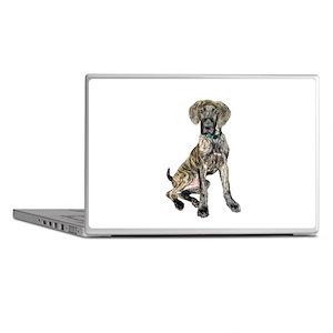 Brindle Great Dane Pup Laptop Skins