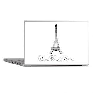 Personalizable Eiffel Tower Laptop Skins