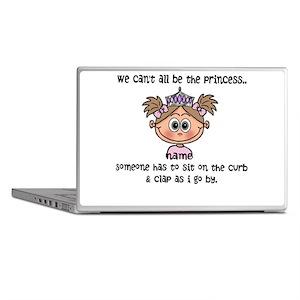 Princess (light brown) - Customize! Laptop Skins