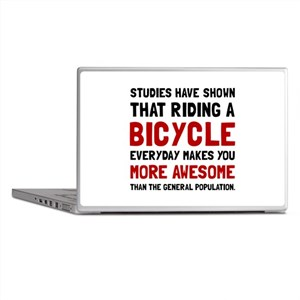 Bicycle More Awesome Laptop Skins