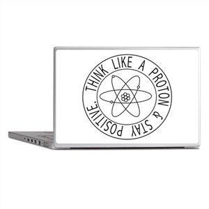Proton stay positive Laptop Skins