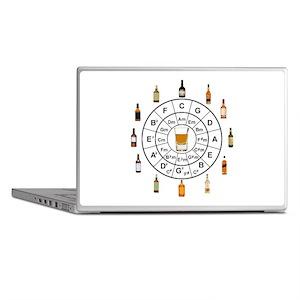 Circle of Whiskey 5th Laptop Skins