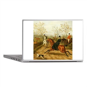 Riding Sidesaddle to the Hunt Laptop Skins