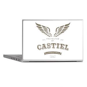SUPERNATURAL Castiel Vintage Laptop Skins
