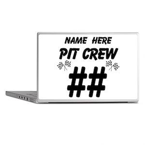 Pit Crew Laptop Skins