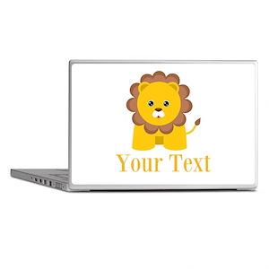 Personalizable Little Lion Laptop Skins