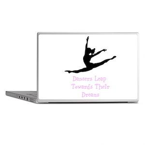 Dancers Leap Towards Their Dreams Laptop Skins