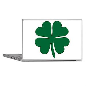 Four Leaf Clover Laptop Skins