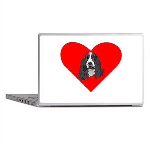 English Springer Spaniel Heart Laptop Skins