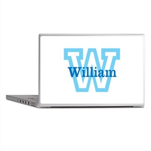 CUSTOM First Initial and Name Laptop Skins