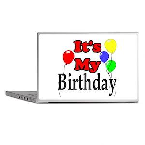 Its My Birthday Laptop Skins