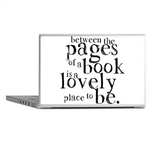 Between the Pages Laptop Skins