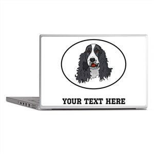 Custom Springer Spaniel Laptop Skins