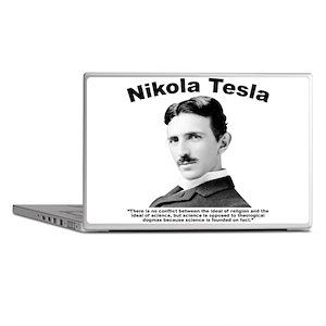 Tesla: Religion Laptop Skins