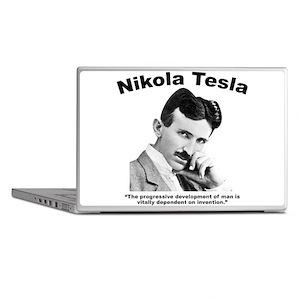 Tesla: Invention Laptop Skins
