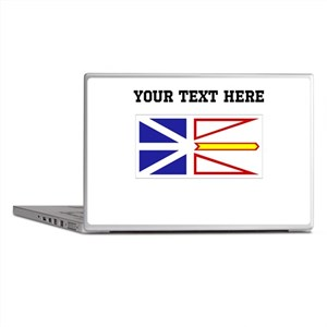 Custom Newfoundland Flag Laptop Skins