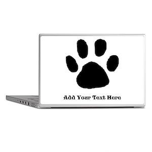 Paw Print Template Laptop Skins