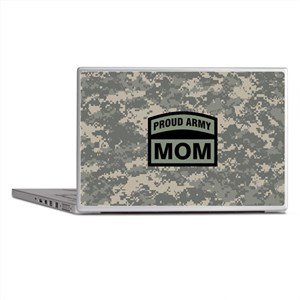 Proud Army Mom Camo Laptop Skins