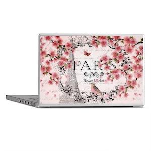 Paris spring Laptop Skins