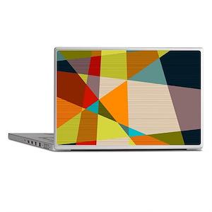 Mid Century Modern Geometric Laptop Skins